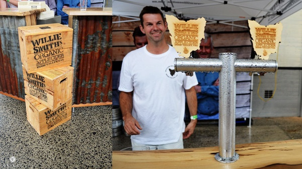 Willie Smith's Organic Apple Cider was a stand-out at the 2012 Tasmanian International Beerfest!