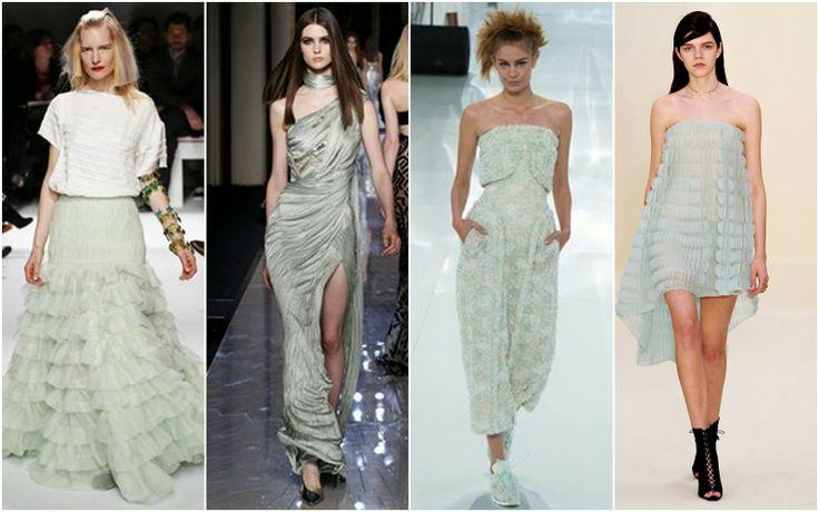 Mint - Beautifully Fierce!: Paris Haute Couture: Spring 2014 Color Trends.