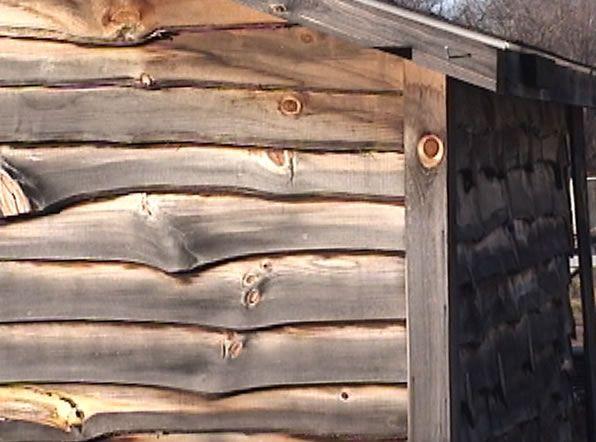 Rustic Mountain Homes Log Homes Exterior Siding Bark Edge