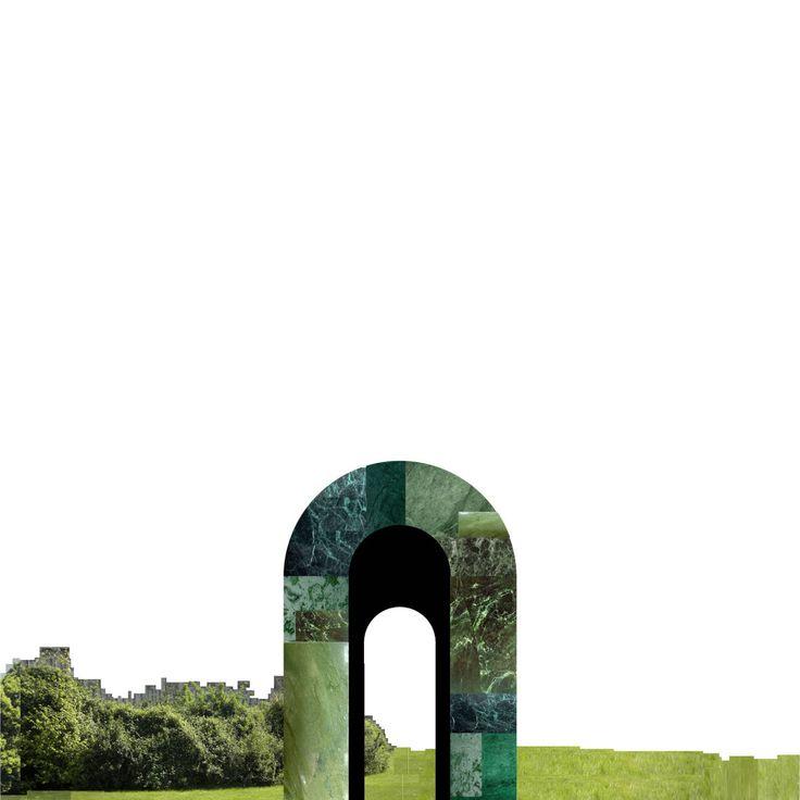 [Les Folies nel Fiume Verde per Milano (un Parco Urbano Centrale di Stefano Boeri Architetti)].