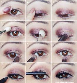 Indian Vanity Case: 2-in-1 Eye Makeup Tutorial ~ Metallic Eyes & V-Kohl Eyeliner