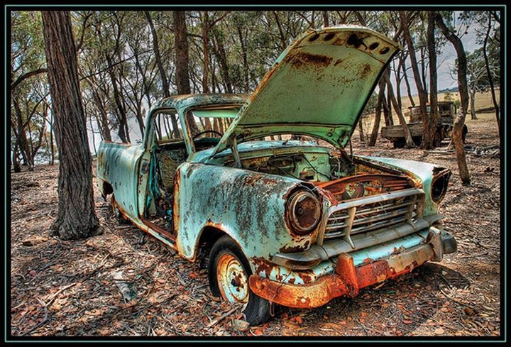 How could you leave this beauty to rust like this - 1959 Holden FC ute