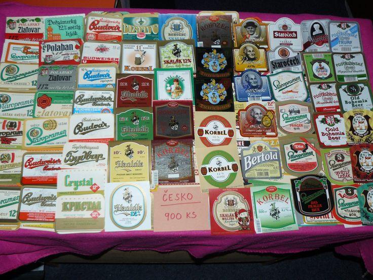 Prodám Česko - 900 ks pivní etikety (6363707656) - Aukro - největší obchodní portál