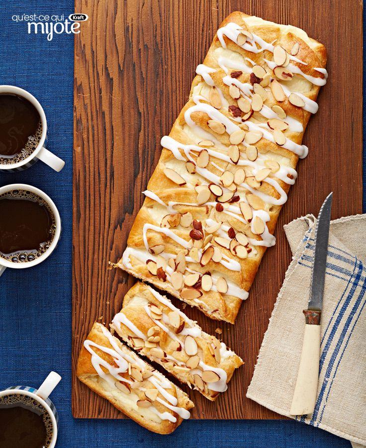 Gâteau danois aux amandes #recette