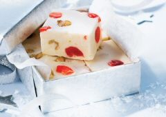 White Chocolate Cherry Nut Fudge Recipe by Eagle Brand