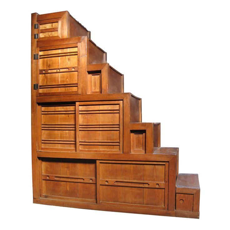 Perfect Japanese Kaidan Dansu   Step Chest | Japanese Furniture, Stair Storage And  Furniture Ideas