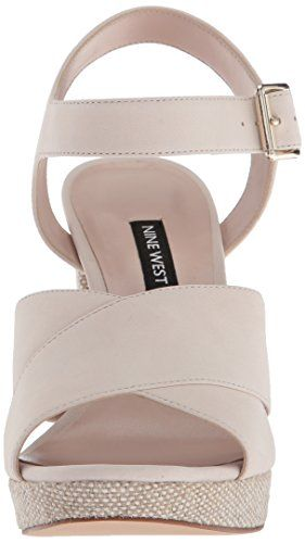 c644c6c78783 Nine West Women s JIMAR Nubuck Heeled Sandal