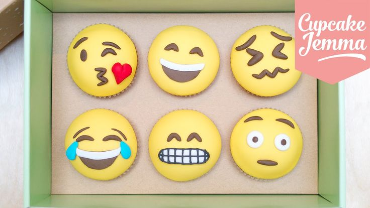 How to Make Emoji Cupcakes | Cupcake Jemma