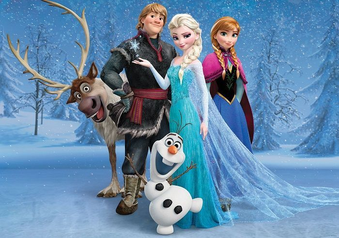 Giant size wallpaper mural for boy's room. Frozen Disney paper wallpaper ideas. Express and worldwide shipping. Free UK delivery.