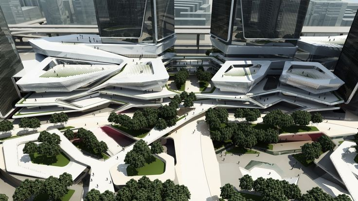 10 Design - Chengdu Mixed Use Development