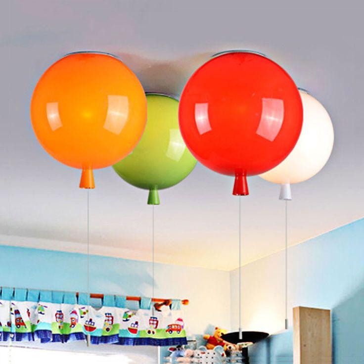 D250mm ballon forme plafond lampes, enfants chambre mignon balle abat jour, salon salle à manger décoration éclairage dans Plafonniers de Lumières et Éclairage sur AliExpress.com | Alibaba Group