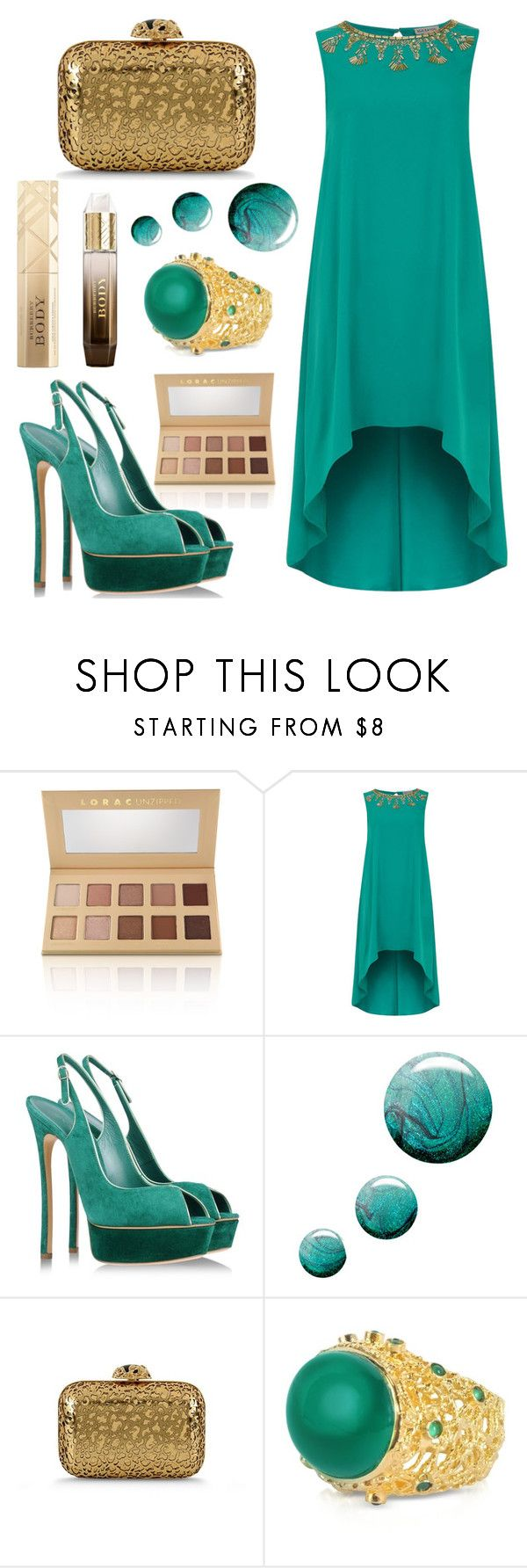 """""""1"""" by zinovyeva ❤ liked on Polyvore featuring LORAC, Alice & You, Casadei, Topshop, Sergio Rossi, Isharya and Burberry"""