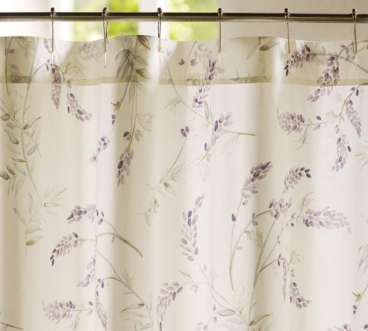 30 best master bathroom images on pinterest bathroom for Master bathroom curtains
