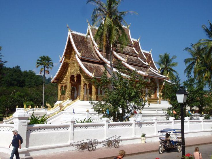 The city of Luang Prabang, Loas...