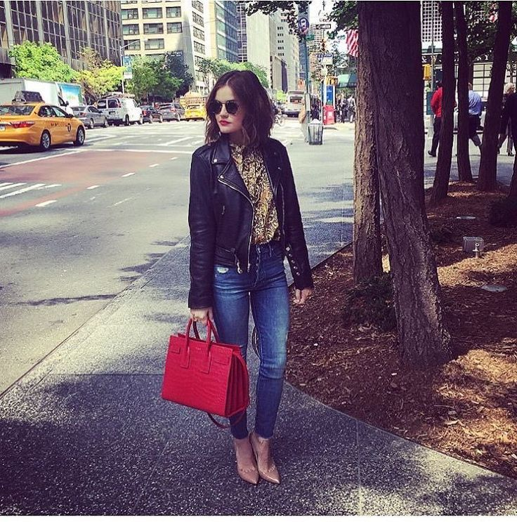Lucy Hale, my other fave! LOVE her style. Especially as Aria in Pretty Little Liars. Girly, but edgy. Lots of black and leopard and funky details.
