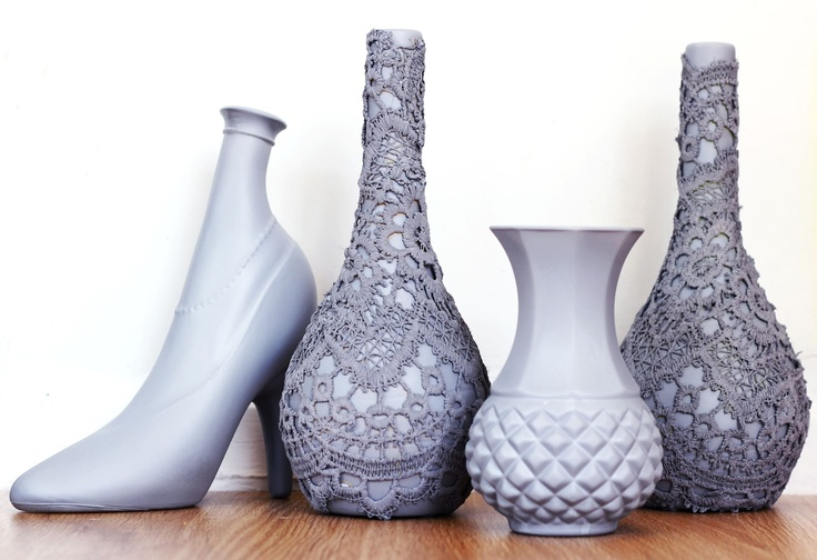 17 best images about upcycled liquor bottles on pinterest for Liquor bottle vases