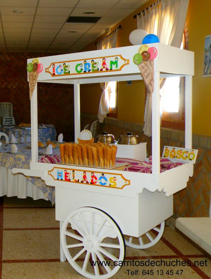 17 best images about ideas para fiestas infantiles on for Carritos chuches comunion