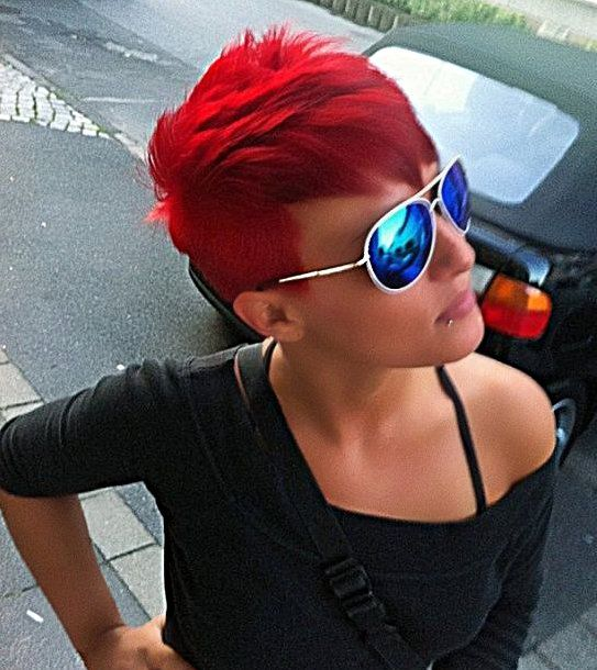 15 vurig rode korte kapsels… Een prachtige kleur voor de herfst!