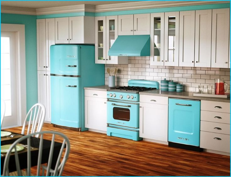 Best Vintage Kitchen Decor Images On Pinterest Retro Kitchens