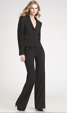 Armani Pant Suits for Women   ... left out? Which kind of suits do YOU usually pull out for interviews