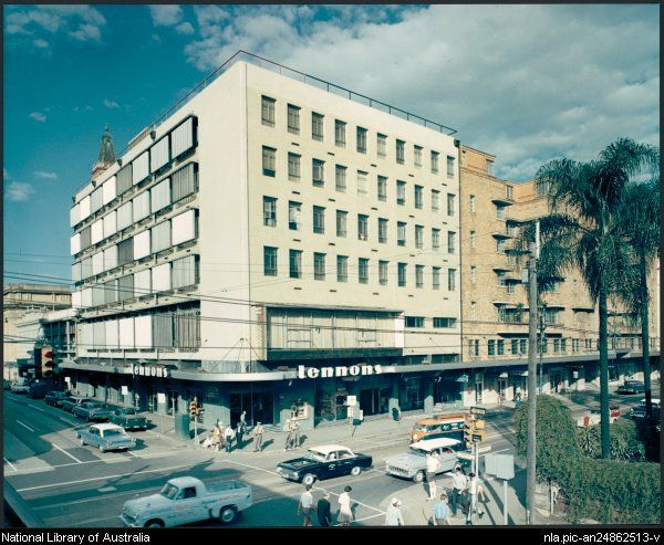 Exterior view of Lennons Hotel, Brisbane, Australia, 1965 [picture] /