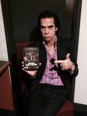 NICK CAVE ENCOUNTERED (2014): The man, the myth and the movie  NICK CAVE ENCOUNTERED (2014): The man, the myth and the movie The backstage room at Auckland's SkyTower Theatre where Nick Cave waits is tiny, but doubtless he's seen much worse.