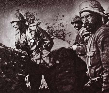 WWI and the Turkish War of Independence, known in the West as the Greco-Turkish War.