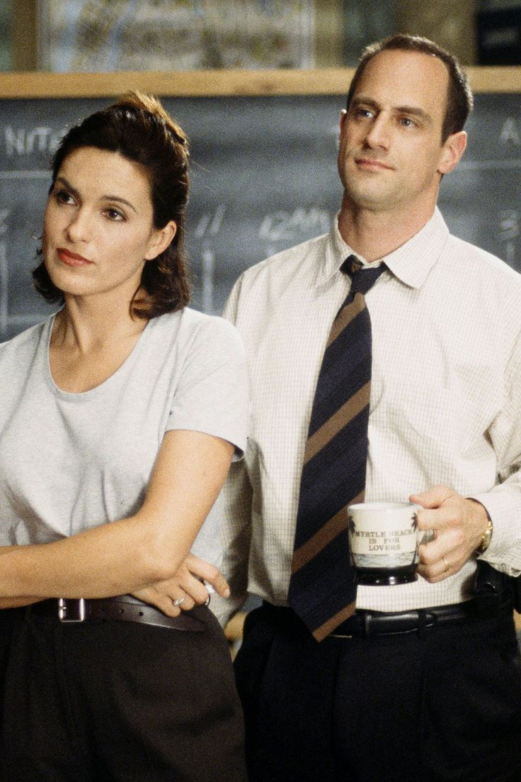 All your Olivia Benson and Elliot Stabler dreams come true with these adorable pics of 'Law & Order: SVU's finest.