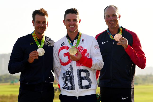 Justin Rose wins golf gold for Great Britain ahead of Henrik Stenson and Matt…