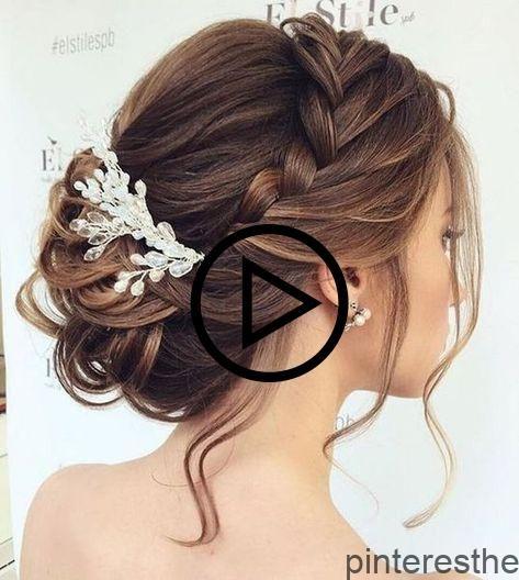 10 #Brautfrisuren #zum #selbermachen. #Wie #du #brautfrisuren #halboffen, #brautfrisuren #mit…