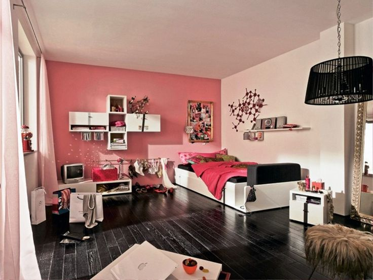 211 best Chambre ado images on Pinterest   Room decorating ideas ...
