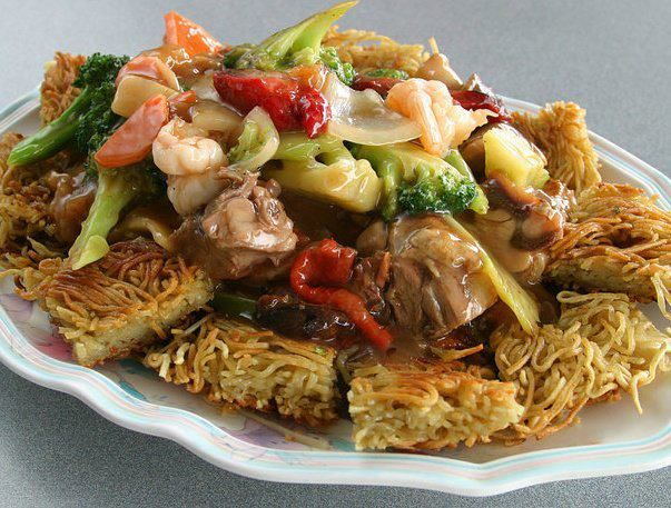 Chinese Cake Noodles Food I Eat Chinese Cake Noodle