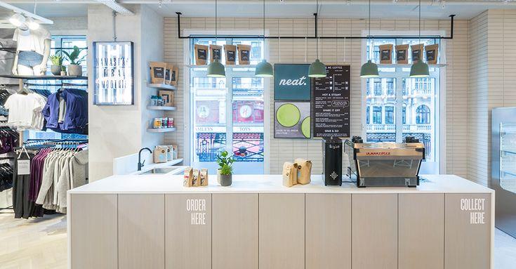 Neat Café, Lulumon Regents St