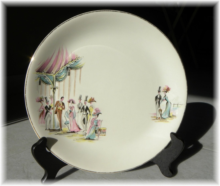 """Alfred Meakin produced a """"My Fair Lady"""" plate!?!"""