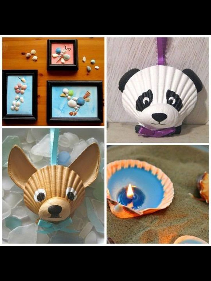 Souvenirs coquillages pinterest shell craft and for Seashell art projects