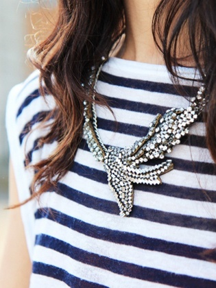 Embellished necklaces for a statement in summer time! #StyleKeeper #Glassons