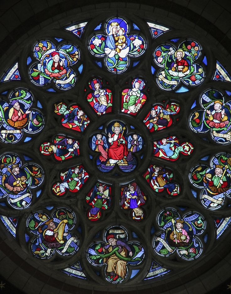 97 Best The ROSE Window Images On Pinterest