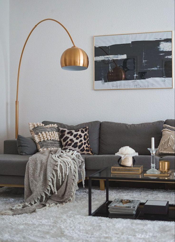 INTERIOR – Ideen für mehr Glamour im Wohnzimmer…