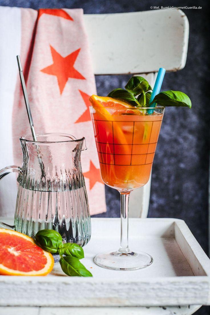 Blutorangen Basilikum Mocktail Ein Spritziger Cocktail Für Deine Alkoholfreie Zeit Gourmetguerilla S Foxy Food Alkoholfrei Blutorange Alkohol