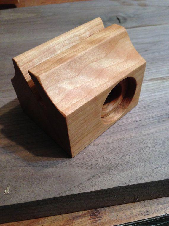 Soporte de altavoz de madera Galaxy S3 por Bloodwood en Etsy