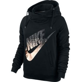 Nike Women's Rally Metal Funnel Neck Graphic Hoodie   DICK'S Sporting Goods