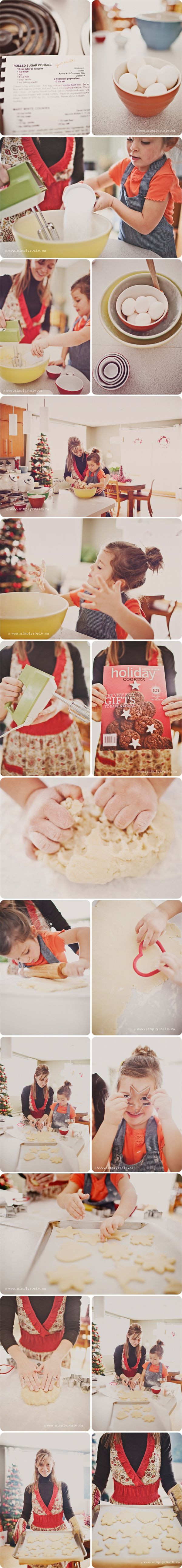 THIS. shoot. Oh my - Ack, it's so cute!!! I want to do a cookie shoot now!