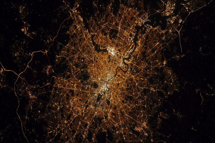 Лондон из космоса