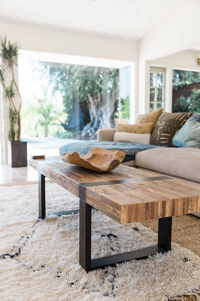 Best 25 rustic coffee tables ideas on pinterest - Brickmakers coffee table living room ...