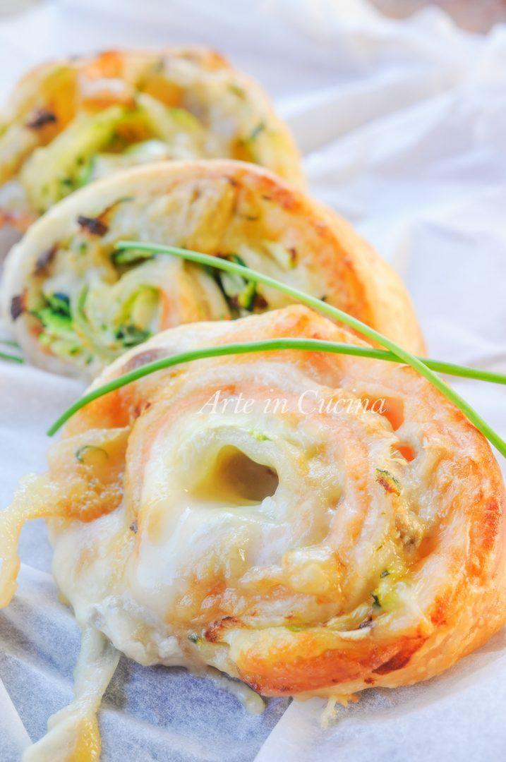 Girelle di sfoglia salmone e gorgonzola veloci vickyart arte in cucina