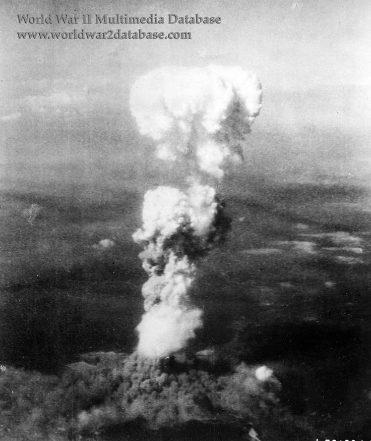 """Little Boy"" Bomb Explodes Over Hiroshima"