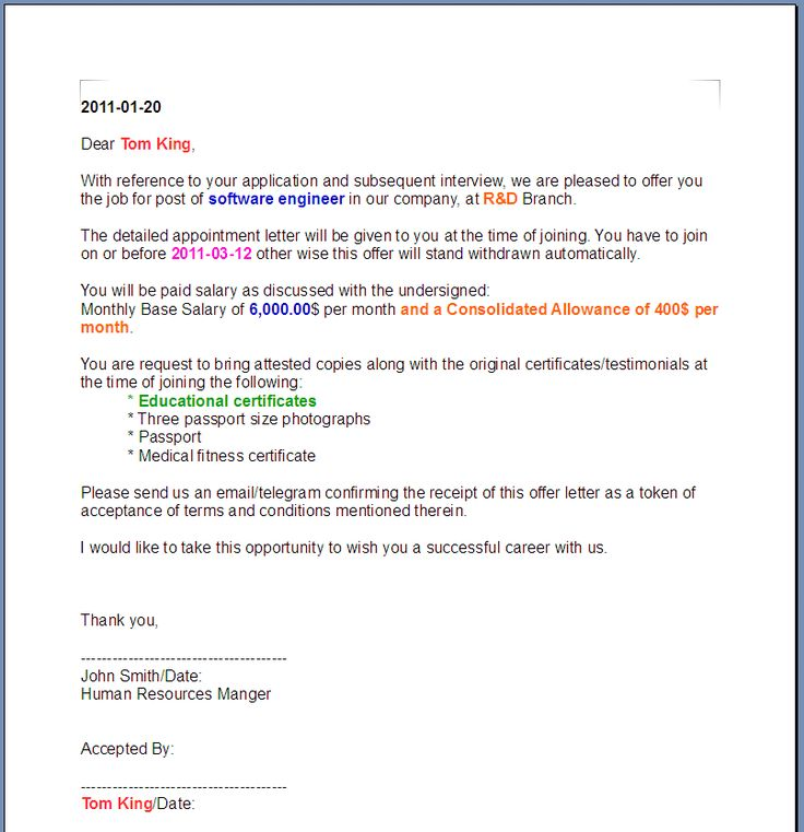 Oslec Garsota (daraengineering) on Pinterest - sample letter of appointment