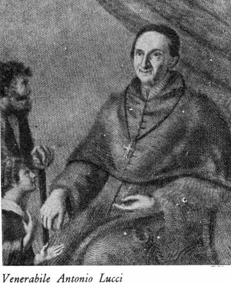 Antonio Lucci (Beato) - Nato in Agnone il 03 Agosto 1672, da Francesco ed Angela Paolantonio, ebbe come nome Angelo Nicola, che mutò in quello di Antonio nel rivestire il saio di Frate Minore nel 1697. Nel 1728, essendo già Padre Provinciale, fu chiamato alla direzione del colleggio di San Bonaventura in Roma. Li i Francescani facevano gli studi superiori di Teologia, all'inizio del 1729 fu consacrato Vescovo della città di Bovino da Benedetto XIII. Partecipò come tale al Concilio…