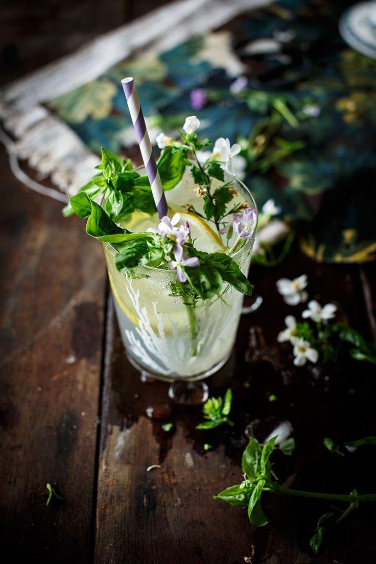 manjericão limonada-com-home-lemonade- Porque blogue