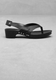 Wooden Sole Sandals